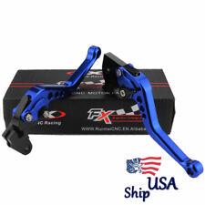 USA For YAMAHA Raptor YFM660 Warrior YFM350 02-04 CNC Short Brake Clutch Levers