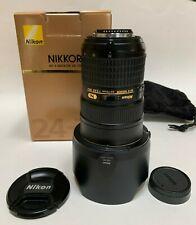 AFS Nikon Nikkor Lens 24-70mm Nikkor f 2.8G ED excellent condition