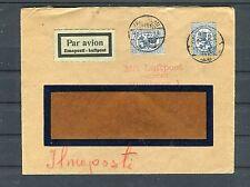 Luftpostbrief Finnland (Fensterumschlag) 2M MeF - b3031