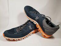 ON Running Men's Cloudflow Size 9 / 42.5 Color Rock / Orange