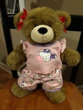 Bearamy Build A Bear Workshop BABW Hello Kitty Outfit Stuffed Plush Toy Laughing