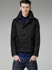 CHAQUETA DE HOMBRE G-STAR RAW ESSENTIALS CROPPED PEACOAT TALLA M VALORADA EN