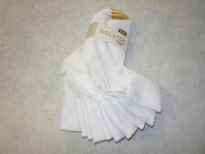 Gold Toe Women's Socks, Womens Turn Cuff Socks, Womens Casual Socks, 4341. White