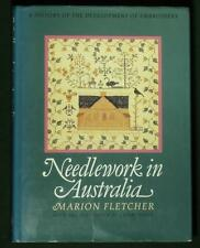 BOOK Needlework in Australia antique embroidery quilt English sampler tapestry