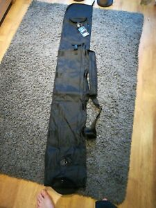 Fishing rod holdall for match rods in tubes with umbrella and Bank stick pockets