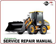 JCB 407B 408B 409B 410B 411B Wheel Loading Shovel Service Repair Manual CD