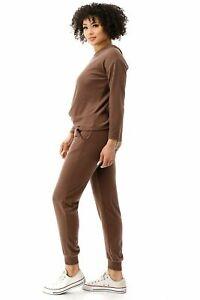 Women's Solid Sweatsuit Set Hoodie & Pants Active Fashion Wear ✅ FREE SHIPPING✅