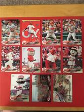 2018 Topps Opening Day Cincinnati Reds Master Team Set 11 Cards Inserts
