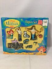"Mattel 1997 Disney's- ""The Little Mermaid"" Figure Set- Nrfb"