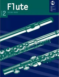 AMEB Flute Series 2 Grade 2 Book Includes Piano Accompaniment
