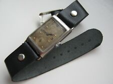 Antique Paul Buhre rectangular men's wrist watch. Serviced
