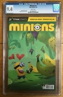 Minions #1 Despicable Me 1st Appearance in Comics CGC 9.4 0274981019