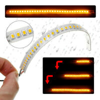 Dynamic LED Car Side Rearview Mirror Turn Signal Indicator Light Strip Supplies