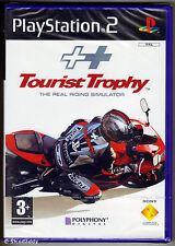 PS2 Tourist Trophy: REAL RIDING SIMULATOR (2006), Regno Unito PAL, Nuovo & Sigillato in Fabbrica