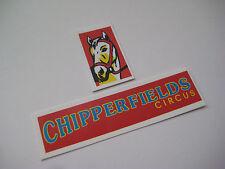 Corgi 1130 Chipperfields -  Horse Transporter Stickers - B2G1F