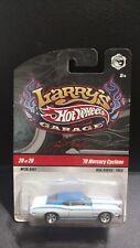 Hot Wheels Larry's Garage 70 1970 Mercury Cyclone White Hot Rod 1/64 Diecast Car