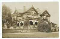 RPPC DuBois Mansion DU BOIS PA Clearfield County Real Photo Postcard