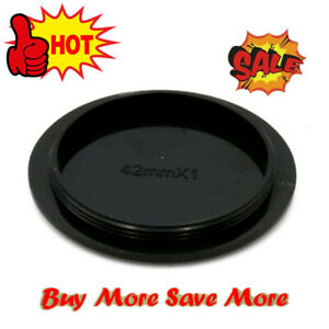 Rear Lens Body Cap Cover For M42 42mm Screw Mount Black Camera Lens
