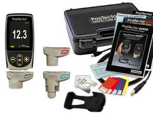 DeFelsko KITF1 PosiTector Inspection Kit Standard Body, 6000-F, DPM & SPG Probes