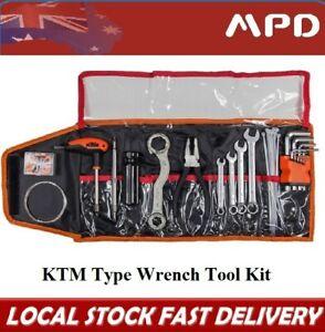 Motorcycle Dirt bike Trail Enduro Under Seat Tool Kit Set Wrap For KTM GAS ATV