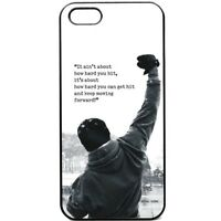 Rocky Balboa Movie Motivation Phone Case for Iphone 6/6s/66s/plus/7/7plus X 11