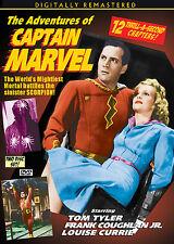 CAPTAIN MARVEL CLIFFHANGER SERIAL- TOM TYLER, FRANK COUGHLAN, JR 2 DISC SET  DVD