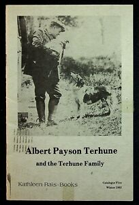 Albert Payson Terhune & Terhune Family Catalogue #5 Winter 1983 Dog Book