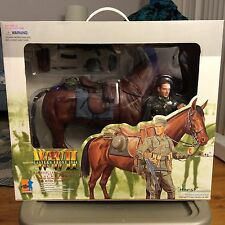 Dragon Horst and Blitz 1/6 Scale WW2 German Wehrmacht Cavalry Soldier with Horse