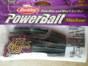 Powerbait MaxScent The General -  Black Blue Fleck