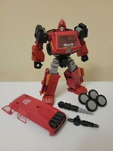 Transformers Earthrise WFC Ironhide Complete with drill and upgrade wheels
