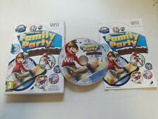 * NINTENDO Wii Game * 30 GREAT GAMES FAMILY PARTY WINTER FUN *