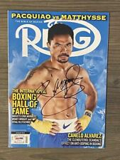 MANNY PACQUIAO signed / autographed Ring magazine ~ PSA/DNA COA