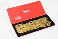 YBN 11 Speed Gold Semi hollow 11s MTB Bike Road Bicycle Chain SLA-11S 116links