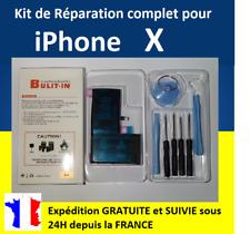 Kit complet de remplacement BATTERIE + OUTILS + STICKERS pour iPhone X