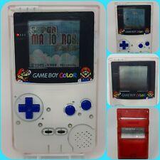 Nintendo GameBoy Color - Super Mario edition - shell - GBC 1998 Retro White Red