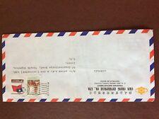 b1u ephemera stamped franked envelope Chin cheng china airmail