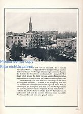 Large mill Nysa XXL 1925 German ad Neisse advertising ad +