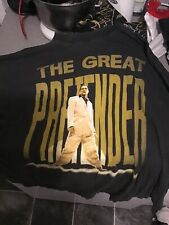 FREDDIE MERCURY The Great Pretender 1987 Official Vintage Promo T-Shirt Queen