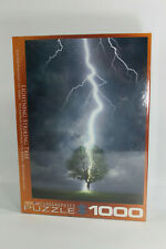 1000 Pc Puzzle EuroGraphics Lightning Strike Tree Free Shipping