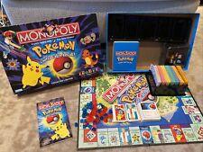 Pokemon Monopoly 1999 Collectors Edition Board Game - COMPLETE *READ
