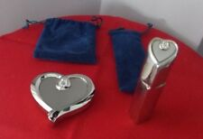 Heart shaped mirror and atomizer Mirror New Atomizer Used Once