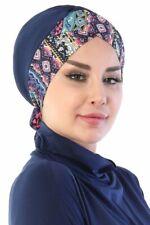 BO-31 Fertig Kopftuch Praktisch Hijab Bone Türban Esarp Sal Tesettür Turban