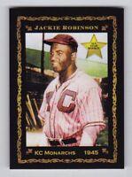 Jackie Robinson '45 KC Monarchs rookie, rare Monarch Corona Pastime #1, nm-mint