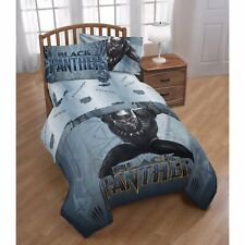 NEW - Marvel Black Panther FULL Size Microfiber Sheet Set Kids Teen Bedding