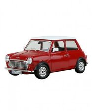 New Burago 1/24 Mini Cooper Red Diecast from japan