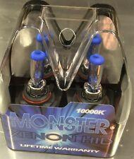 Monster Only Dark BLUE Halogen H1 Xenon Low Beam Headlight Bulbs