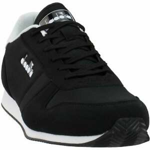 Diadora Snap Run Lace Up  Mens  Sneakers Shoes Casual   - Black