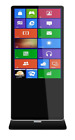 """Touch Screen Computer Kiosk with Built-In Windows 10 Computer and 55"""" HD Monitor"""