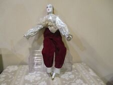 Collectible Porcelain Jester Doll