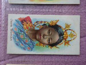 TADDY - NATIVES OF THE WORLD # JAVA WOMAN - SUPER GRADE -  6 CLOSE UP PHOTOS